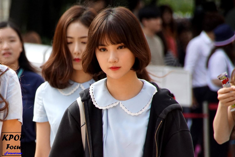 GFriend Eunha Music Bank Arrival 20160722