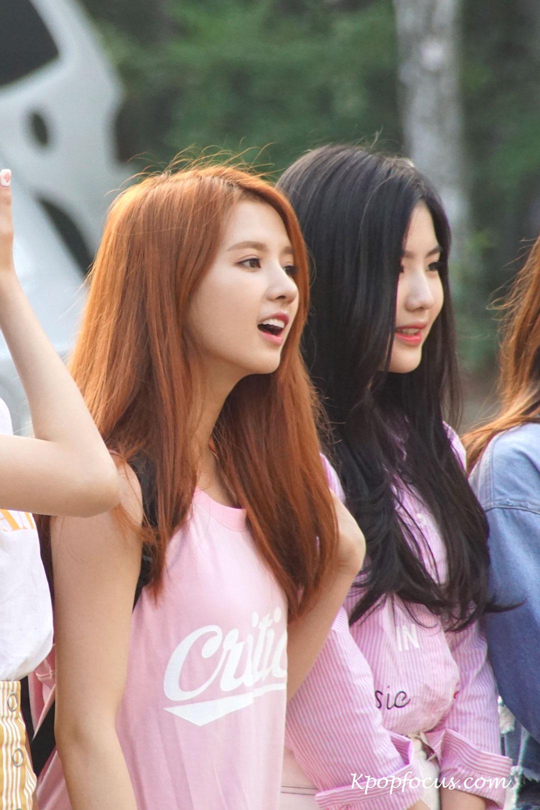 Gugudan Sally KBS Music Bank 160708