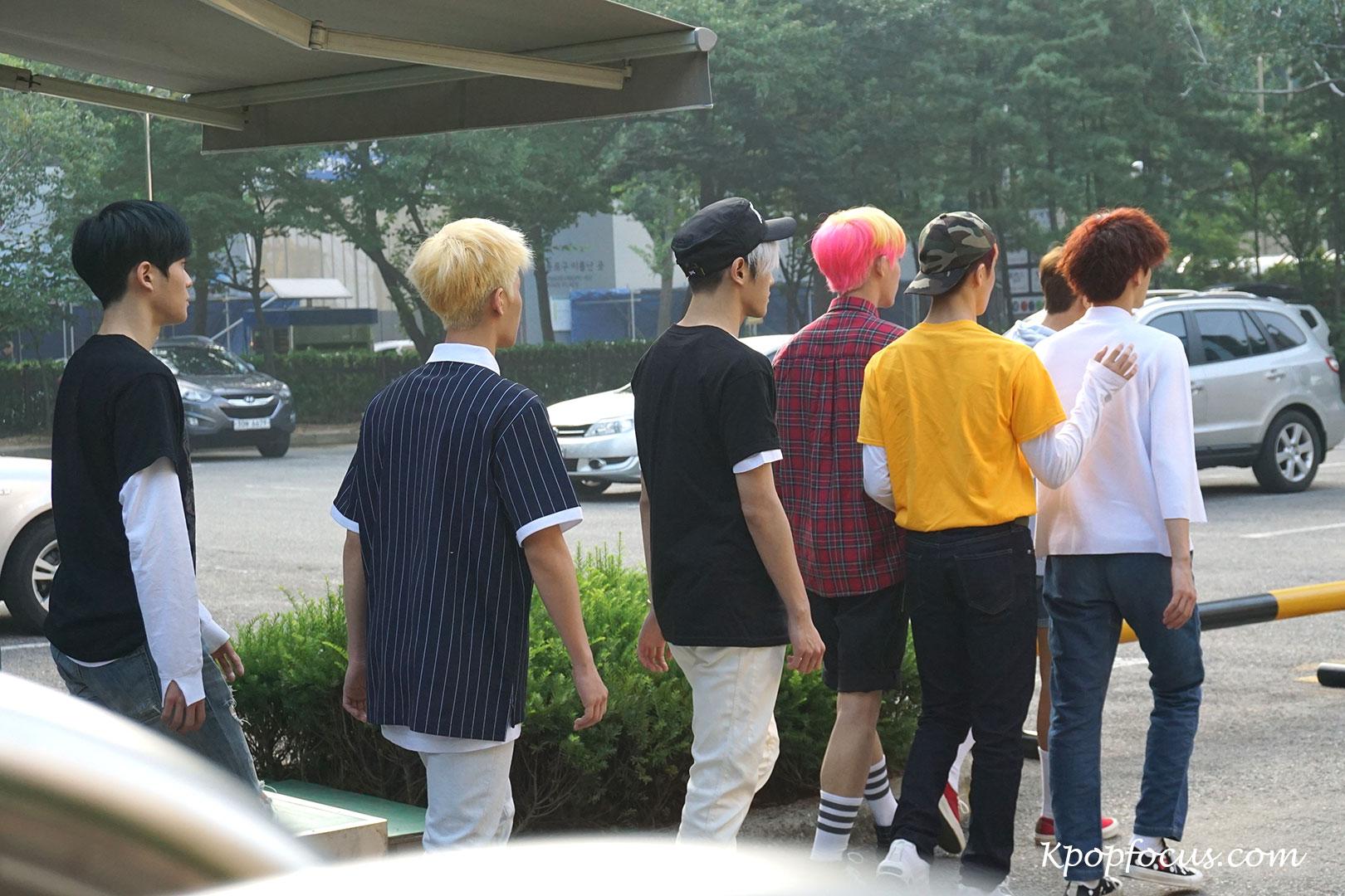 NCT 127 KBS Music Bank 160708