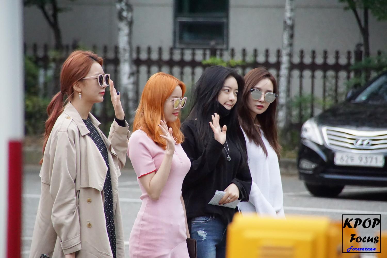 Dal Shabet KBS Music Bank 161007